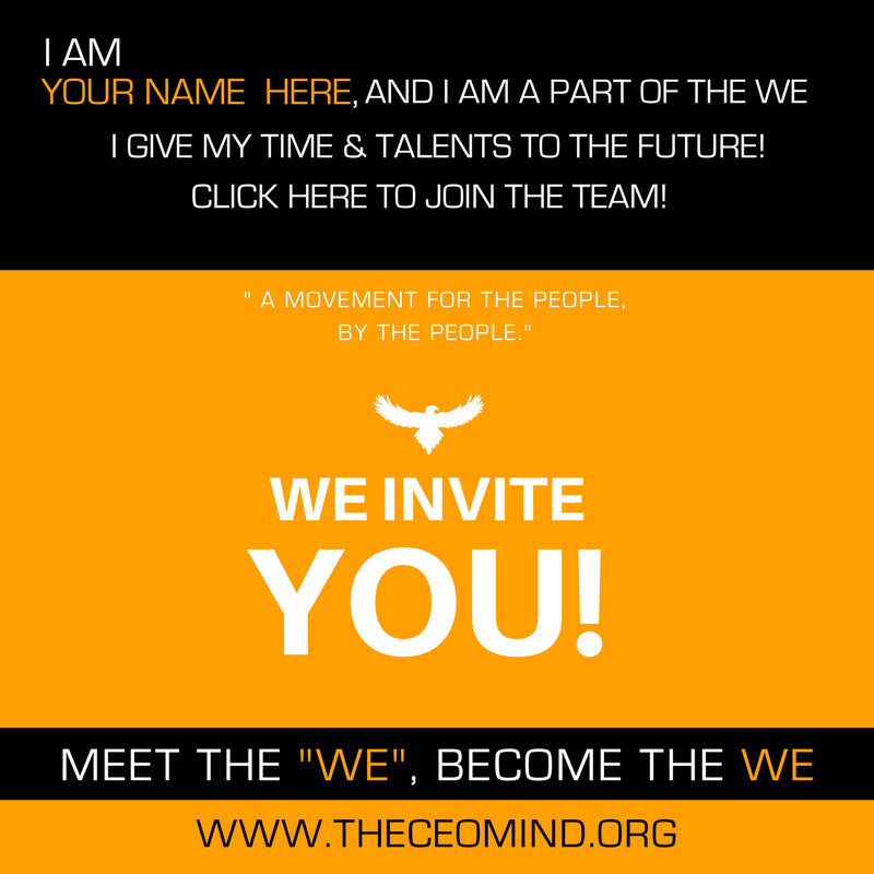 BECOME A CHANGE AGENT!